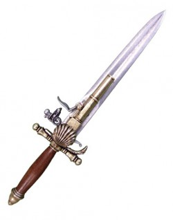 Пистолет-нож, Франция, начало XVIIIв
