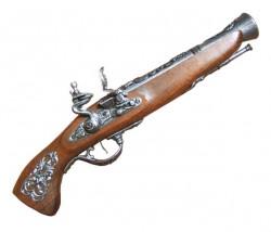 Пистоль мушкетон кремниевый австрийский XVIIIв, сталь