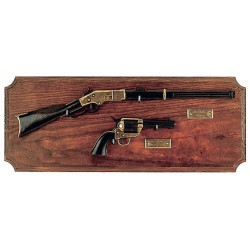 Мини-винчестер и револьвер на подставке, черный, Denix 2100N