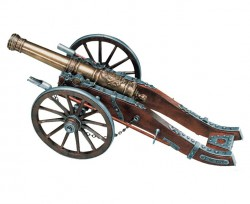 Пушка декоративная, Франция, XVIII век, эпоха Людовика XIV