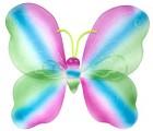 Крылья Бабочки радужные 42х44 см
