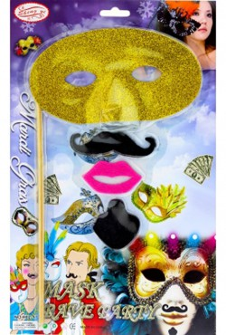 Карнавальный набор с маской
