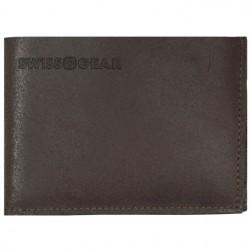 Кожаное коричневое портмоне Wenger Swissgear SG30-13BR
