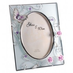 Фоторамка «Бабочка на чайной розе» Charme De Femme, 307-57
