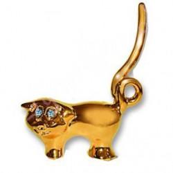 Кольцедержатель Dewal «Свинка золото» 2083-11