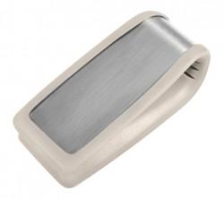 Серый зажим для денег Elite B86368-02