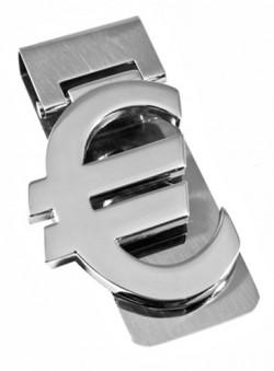 Серебристый зажим для денег Elite B86592