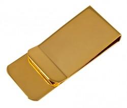 Зажим для денег Elite M855 золотистого цвета
