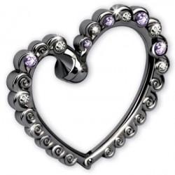 Крючок для сумки Jardin D`Ete «Яркое сердце» 35-7417