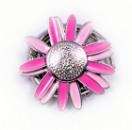 Сумкодержатель JINLI «Ромашка» розовая 106