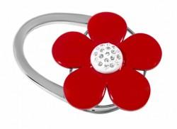 Держатель для сумки Jinli «Красный цветок» JIN118