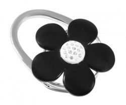Держатель для сумки Jinli «Черный цветок» JIN119