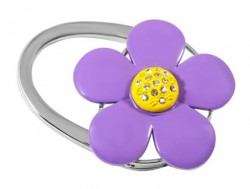 Держатель для сумки Jinli «Фиолетовый цветок» JIN123