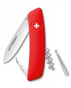 Швейцарский нож Swiza D01 Красный (KNI.0010.1000)