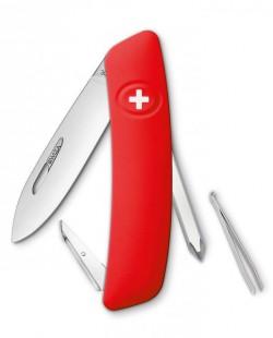 Швейцарский нож Swiza D02 Red (KNI.0020.1000)
