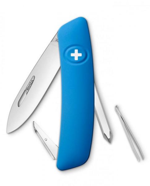 Швейцарский нож Swiza D02 Blue (KNI.0020.1030)