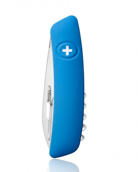 Швейцарский нож Swiza D03 Blue (KNI.0030.1030)
