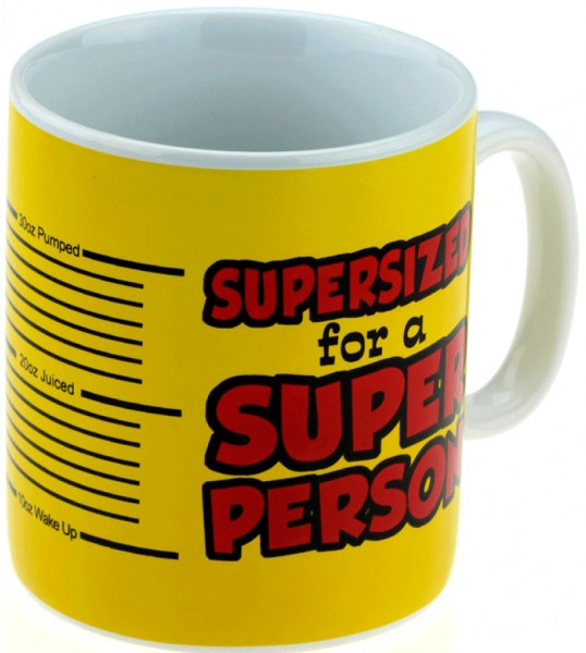 Кружка гигант SUPER PERSON