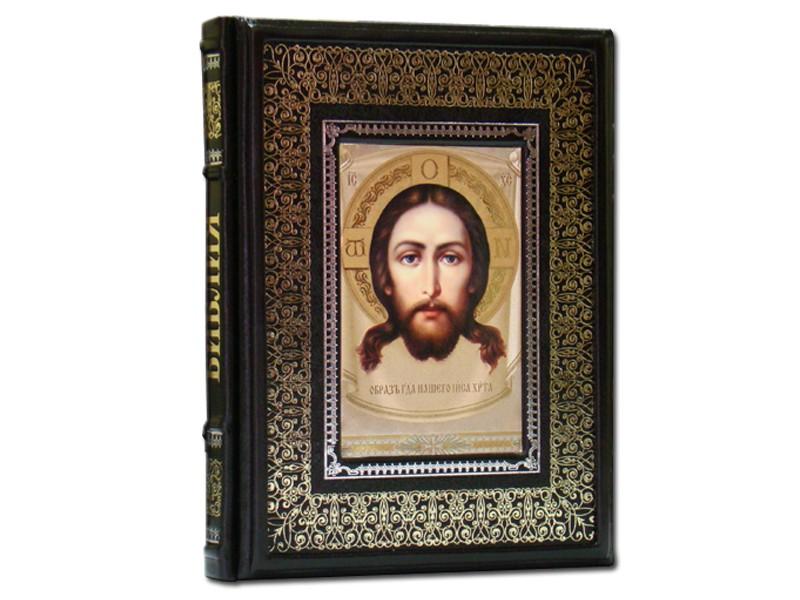 Иллюстрированная Библия (темно-коричневый экземпляр). Dn-85
