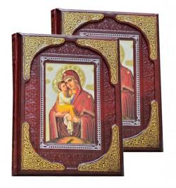 Земная жизнь Иисуса Христа и Богородицы 2-х томник (Бордовый). Dn-389