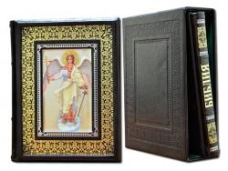 Подарочный экземпляр Библия и Евангелие в 2-х томах Dn-26