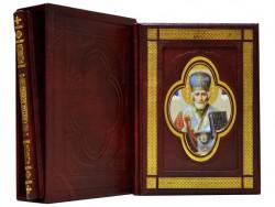 Подарочный 2-х томник Иконы святых воинов Dn-30