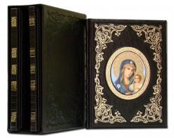 Чудотворные иконы серия из 3-х книг (темно-коричневый) Dn-31