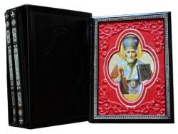 Чудотворные иконы серия из 3-х книг (красный) Dn-32