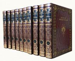 Большая энциклопедия Терра в 63 томах (подарочный комплект), кожа, Dn-76