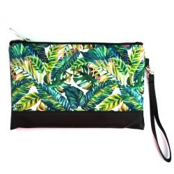 Клатч Пальмовые листья