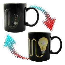 Чашка-хамелеон Лампочка с проводом