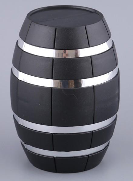 Винный набор бочка черная