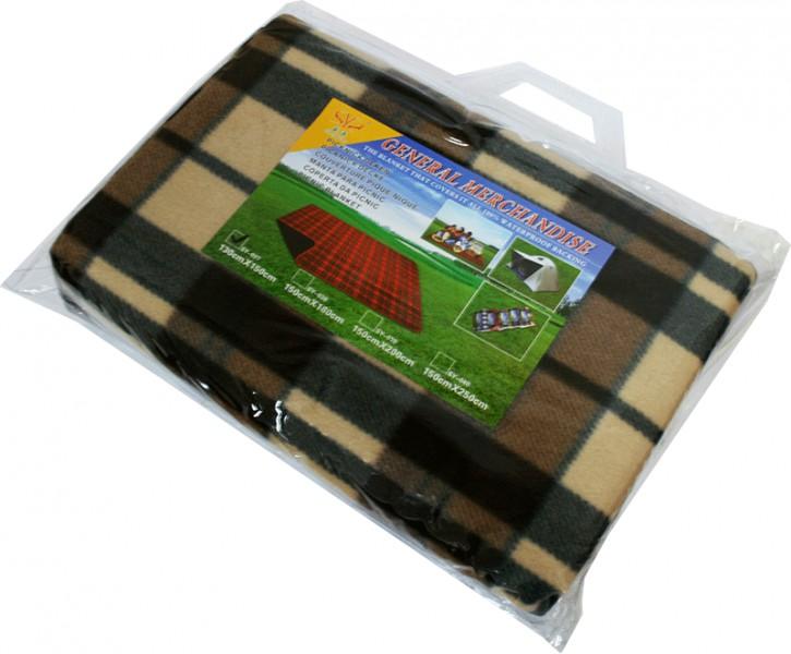 Коврик для пикника Square SY-037 мокачино 130х150см
