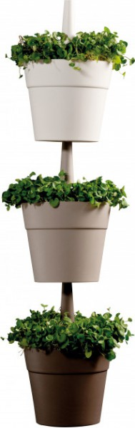 Горшок для растений Keter Rainbow Planter 3 шт