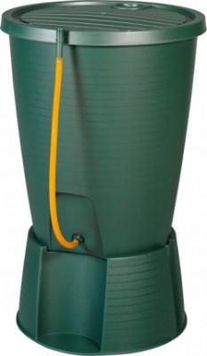 Емкость для сбора дождевой воды Keter Indigo Water Butt & Base 200 л Зеленый