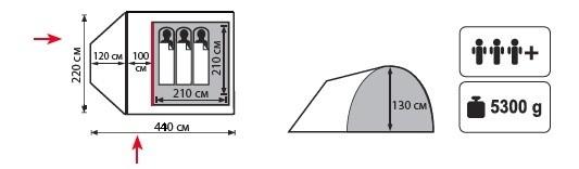 Палатка Carriage