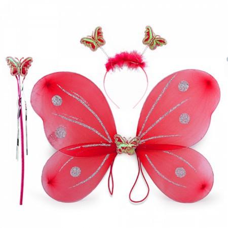 Набор Бабочки красный