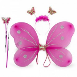 Набор Бабочки малиновый