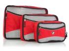 Чехол для одежды Heys Ecotex Packing Cube Red 3шт