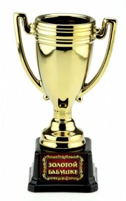 Кубок керамика Золотой бабушке