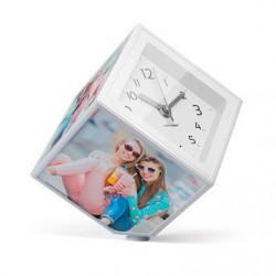 Фоторамка-часы Магический Куб на 5 фото