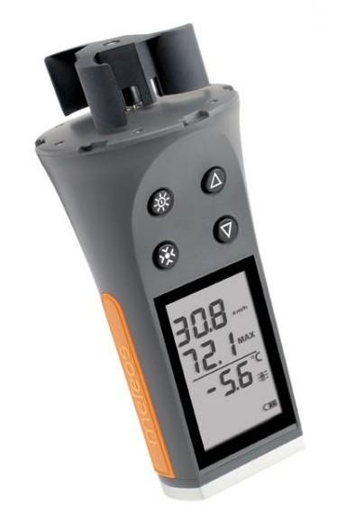 Портативный чашечный анемометр Skywatch METEOS