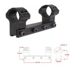 "Моноблок Hawke Matchmount 1""/9-11mm/High"
