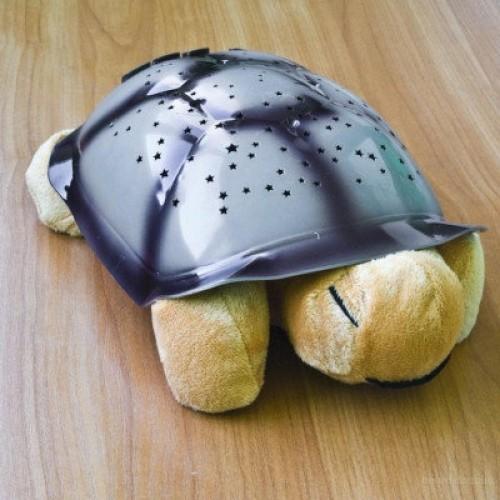 Плюшевая светящаяся мягкая игрушка проектор звездного неба Черепаха