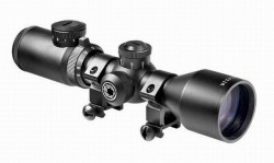 Прицел оптический Barska Contour 3-9x42 (IR Mil-Plex) + Mounting Rings