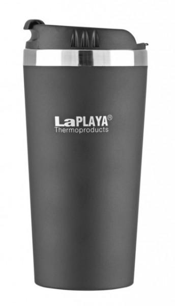 Термочашка LaPlaya Mercury серый 0,4л