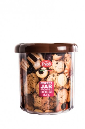 Контейнер для сладостей, печенья, 2,6 л