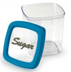 Контейнер для сахара, 1,0 л красная крышка