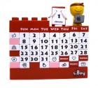 Календарь Конструктор красный
