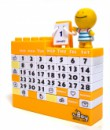 Календарь Конструктор желтый